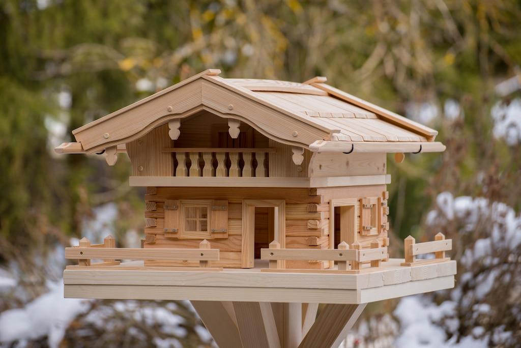 Vogelhaus Typ Linden klein (Original Grubert Vogelhaus)