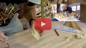 Vogelhaus bauen Fenster fertig bauen