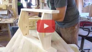 Vogelhaus bauen Obergeschoss bauen