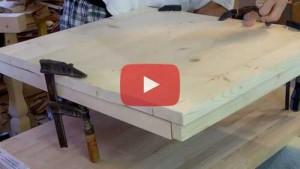Vogelhaus bauen bau der bodenplatte
