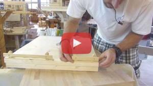 Vogelhaus selber bauen Zaun bauen und montieren