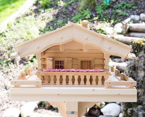 Vogelhaus Almhütte (Original Grubert Vogelhaus)