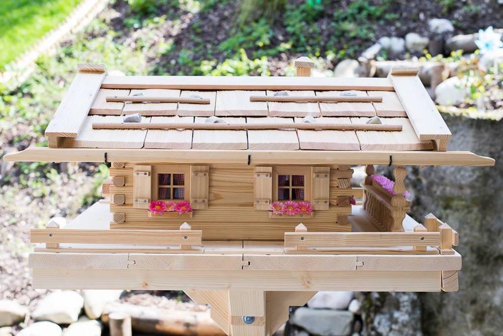 Vogelhaus Almhütte 3 (Original Grubert Vogelhaus)