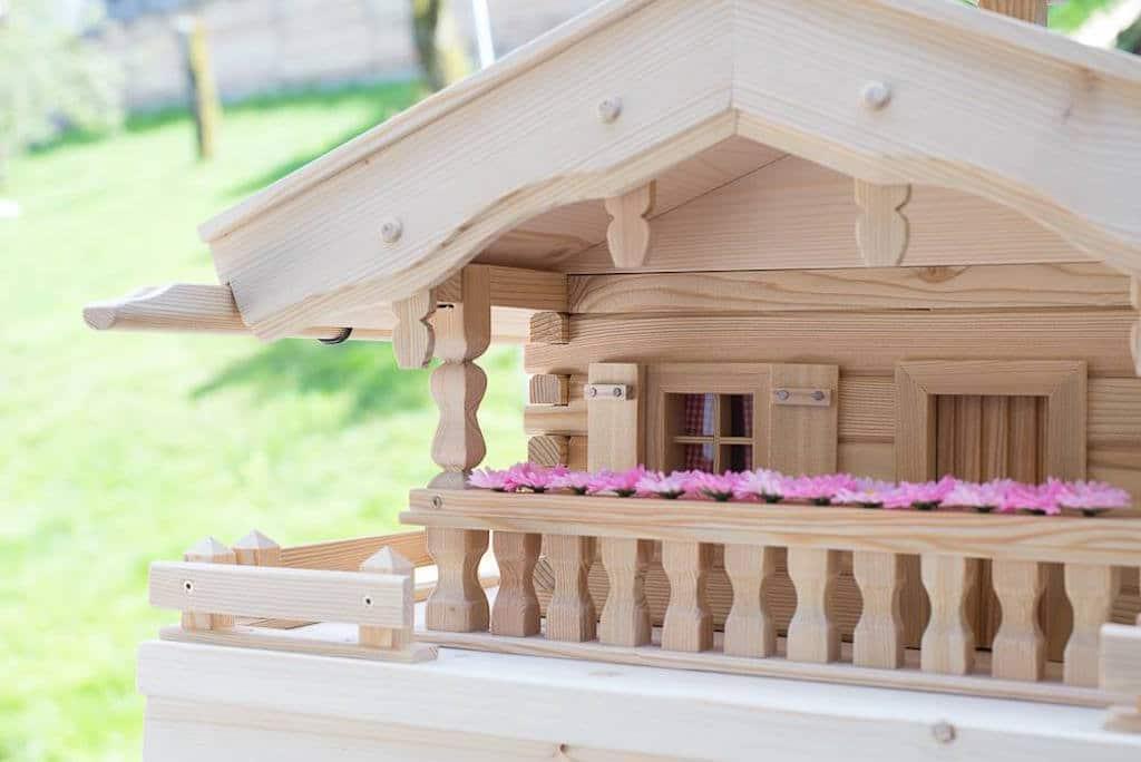 Vogelhaus Almhütte 7 (Original Grubert Vogelhaus)