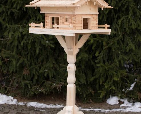 Vogelhaus Ständer klein 2