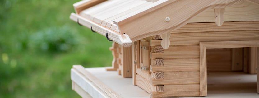 Wo soll ein Vogelhaus stehen