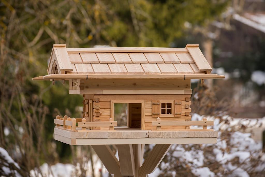 Vogelhaus bauen 2