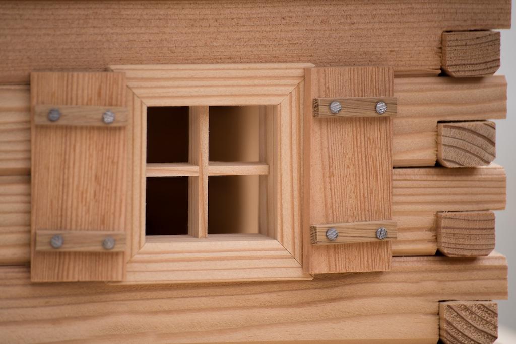Vogelhaus bauen 3